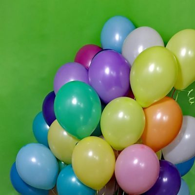 Balony z helem kolorowe