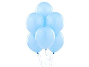 Balony jasno niebieskie