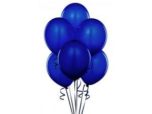 Balony lateksowe granatowy kolor