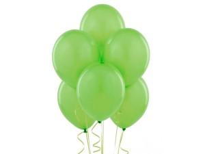 Balon lateksowy jasno zielony