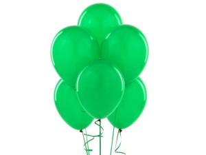 Balon w kolorze ciemnej zieleni