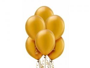 Balon metalizowany w kolorze złotym