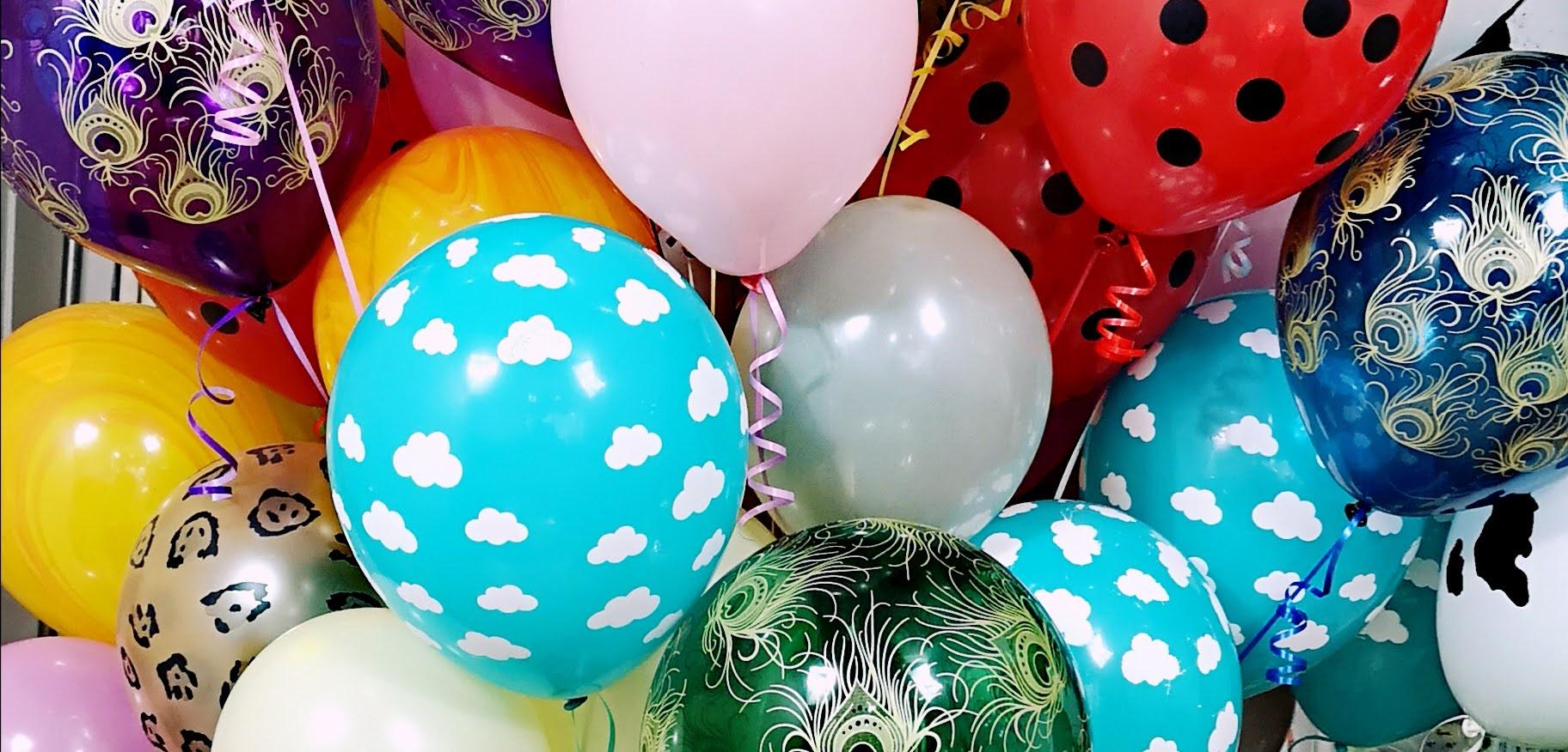 Kolorowe baloniki z helem w Warszawie gdzie kupić?