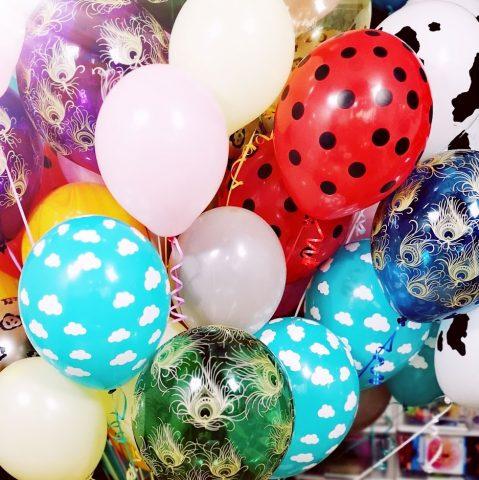 Balony z helem Warszawa i okolice mazowieckie