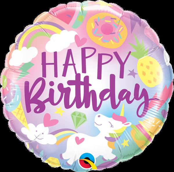 Baloniki z helem na urodziny dla dziecka