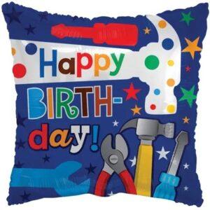 Balon urodzinowy z helem dla majsterkowicza