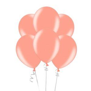 """A005. Metalizowane balony lateksowe 12"""" calowe – kolor złoty róż"""