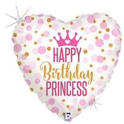 Balon w kształcie serca z helem na urodziny