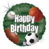Balon z piłką do nogi, rugby, golfa i koszykówki