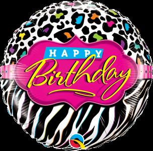 Balony urodzinowe w zwierzęce motywy