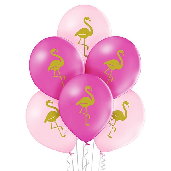 Balon z helem - flaming