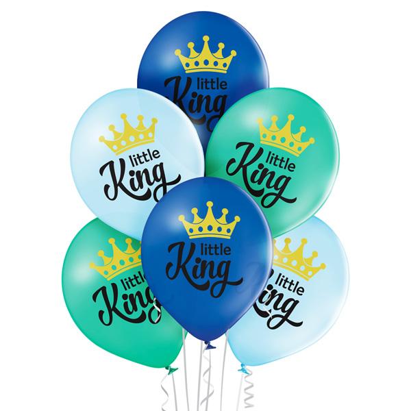 Balony z helem na przyjęcie typu Baby Shower z okazji narodzin dziecka