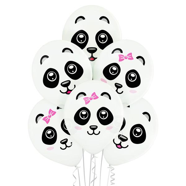 Balony z helem panda