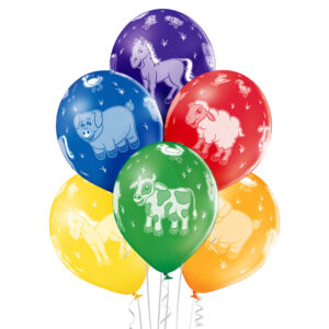 Balony ze zwierzątkami, balonowe zwierzaki na hel