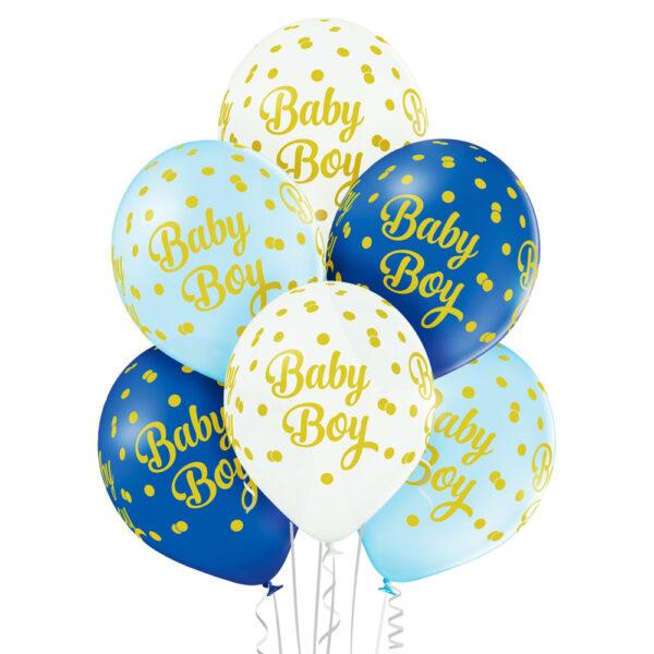 Ładne balony z helem na narodziny syna