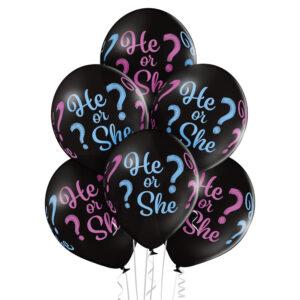 4- Balony na narodziny dziecka / Baby Shower