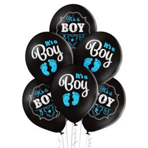 Balony z helem na Baby Shower Warszawa - chłopiec