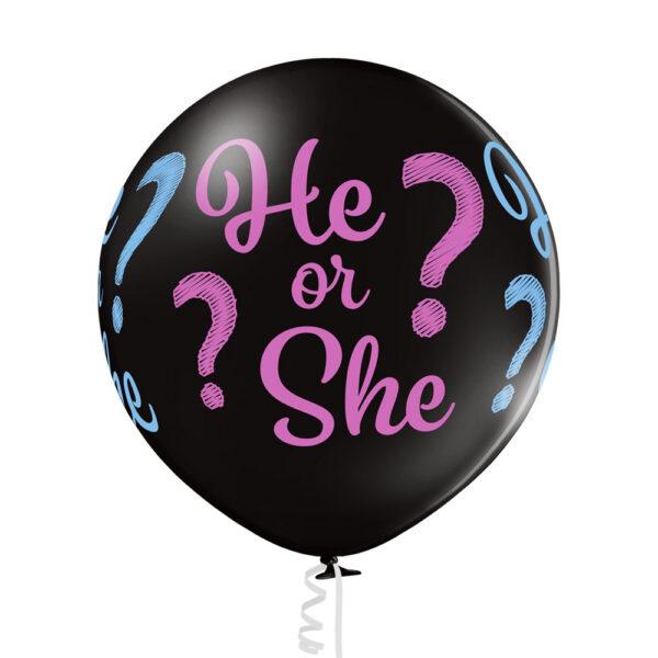 Balon na Baby Shower poznanie płci Gender Reveal chłopiec czy dziewczynka?