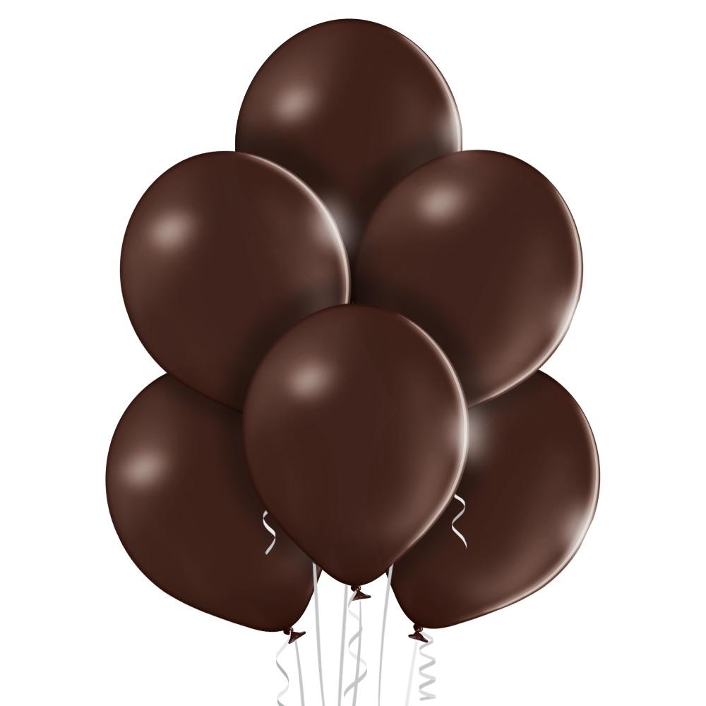 Balony lateksowe brązowe