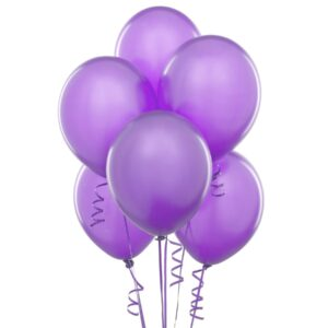 Balony Eko lateksowe jasno fioletowe