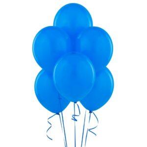 Balony lateksowe w kolorze niebieskim