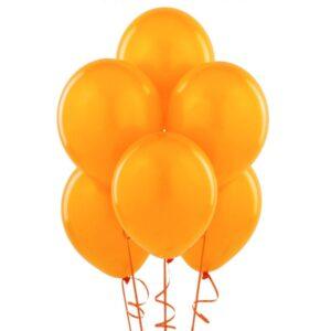 """010. Pastelowe balony lateksowe 12"""" calowe – kolor pomarańczowy"""