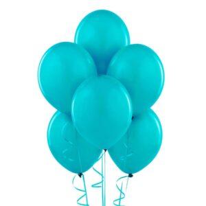 "023. Pastelowe balony lateksowe 12"" calowe – kolor turkus"