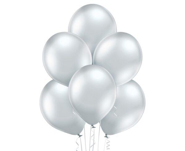 Baloniki w kolorze srebra latające sklep i dostawa