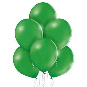 """024. Pastelowe balony lateksowe 12"""" calowe – kolor ciemno zielony"""