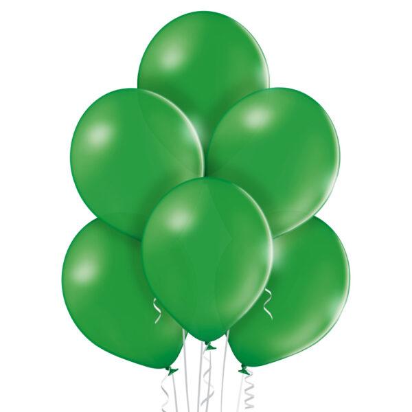 Baloniki w kolorze ciemno zielonym na hel