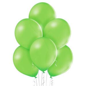 "026. Pastelowe balony lateksowe 12"" calowe – kolor limonka"