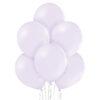 Balony blado fioletowe lateksowe