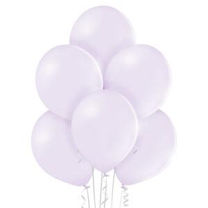 """Mac03. Balony lateksowe Macarone 12"""" calowe – delikatny kolor  liliowa bryza"""