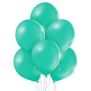 "022. Pastelowe balony lateksowe 12"" calowe – kolor miętowy"