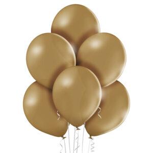 """006. Pastelowe balony lateksowe 12"""" calowe – kolor migdałowy"""