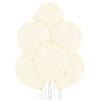 Balon w kolorze wanili z helem
