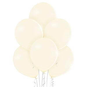 "007. Pastelowe balony lateksowe 12"" calowe – kolor waniliowy"