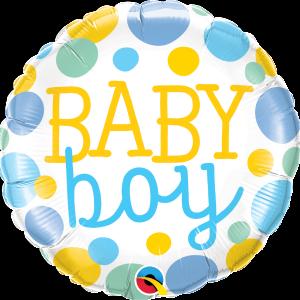 Ma28. Balon 18 cali (43 cm) na narodziny chłopca – Baby Boy