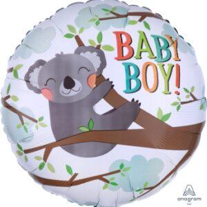Ma31. Balon 18 cali (43 cm) na narodziny chłopca – leniwiec
