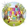 Woodland - zwierzątka balony z helem