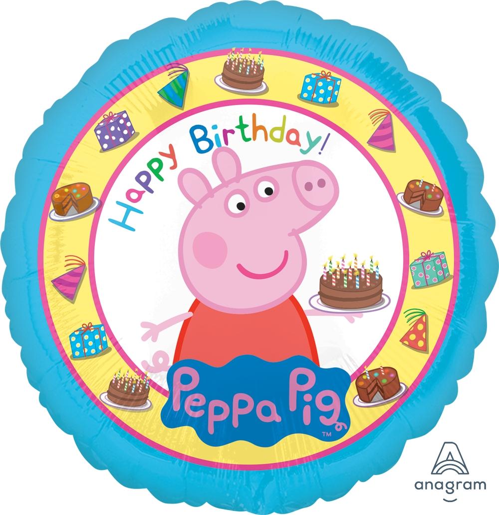 Balon urodzinowy z helem dla małego dziecka