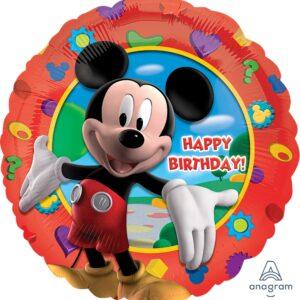 Balony z helem dla dzieci z Myszką Mikki