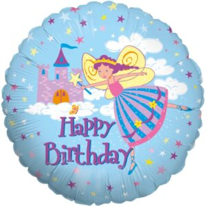L0086. Balon foliowy z helem na urodziny 18″ cali (43 cm) – Wróżka