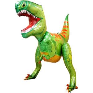 L13. Balon z helem w kształcie ogromnego dinozaura około 150 cm