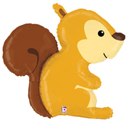 L05. Balon z helem w kształcie wiewiórki około 91 cm