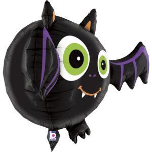 L11. Balon z helem w kształcie nietoperza około 71 cm